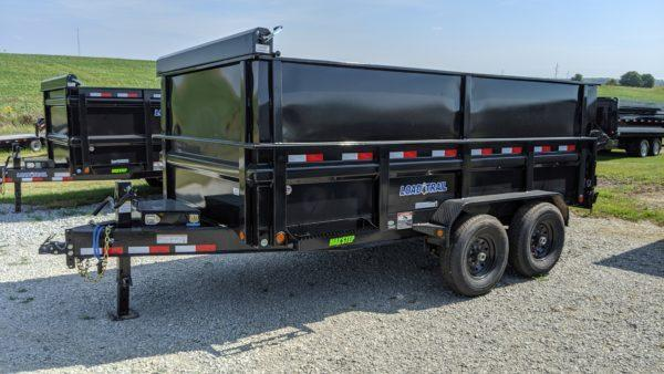 "Load Trail 83"" x 14' Dump Trailer"