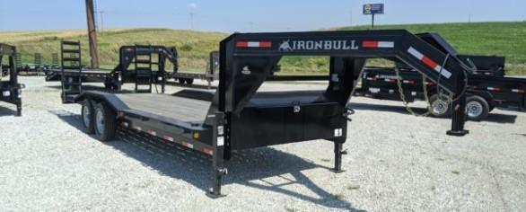 "Iron Bull 102"" x 24' Gooseneck Equipment Hauler"