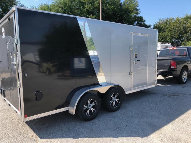 2020 R and M Manufacturing EC 7 16 TA Enclosed Cargo Trailer