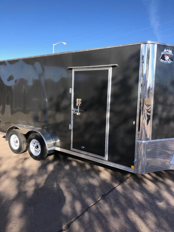 2020 R&M 7x16 v-nose (e-track 7ft) Enclosed Cargo Trailer-CO Springs