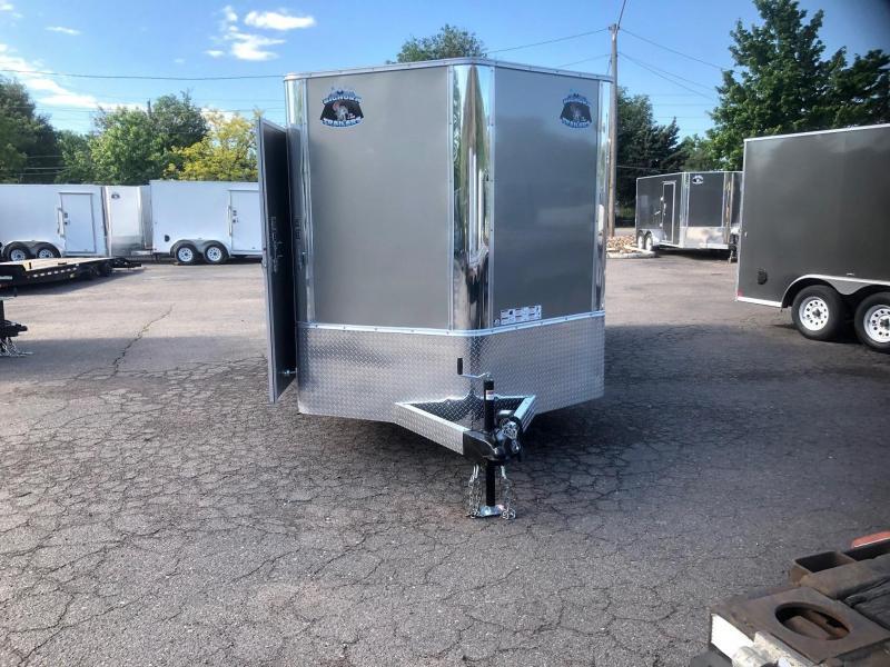 2020 R&M 7x16 v-nose (TAC) Enclosed Cargo Trailer-Wheat Ridge