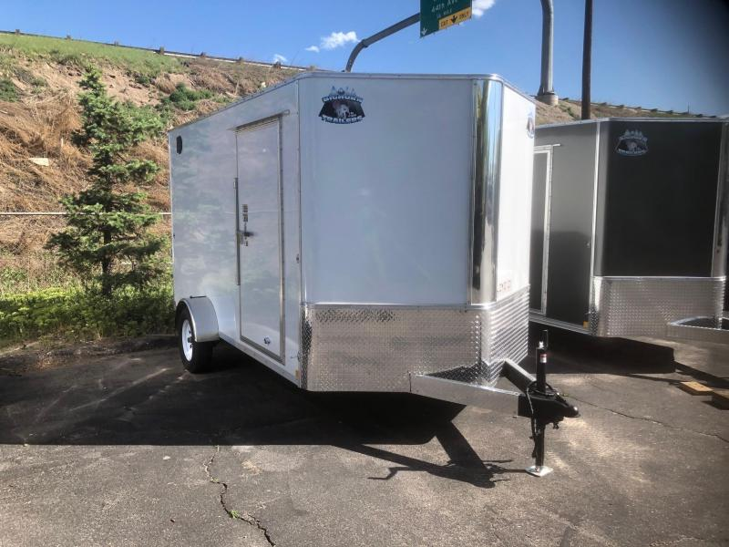 2021 R&M 7x12+v-nose (Single Axle) Enclosed Cargo Trailer-Wheat Ridge