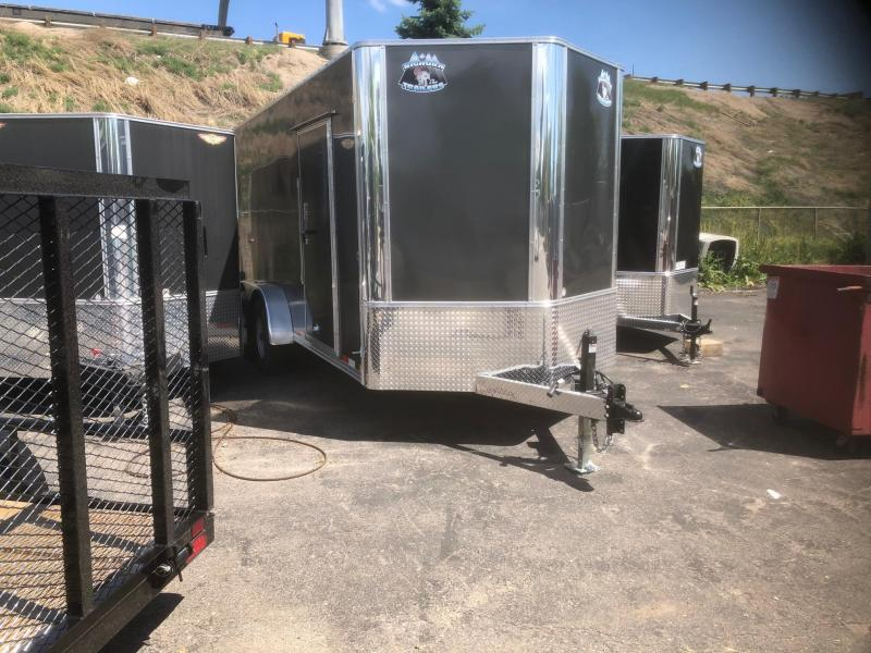 2020 R&M 7X16 V-NOSE (14K) Enclosed Cargo Trailer-WHEAT RIDGE