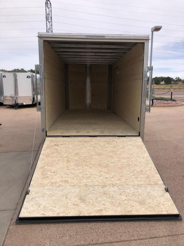 2020 R&M 7x16 v-nose (TAS) Enclosed Cargo Trailer-CO Springs