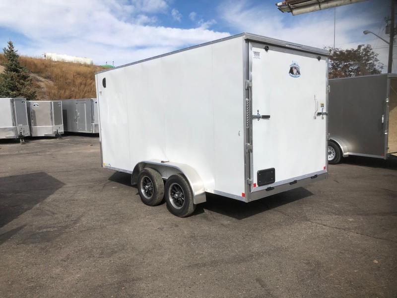 2020 R&M 7x14 v-nose (TAS) Enclosed Cargo Trailer-WHEAT RIDGE