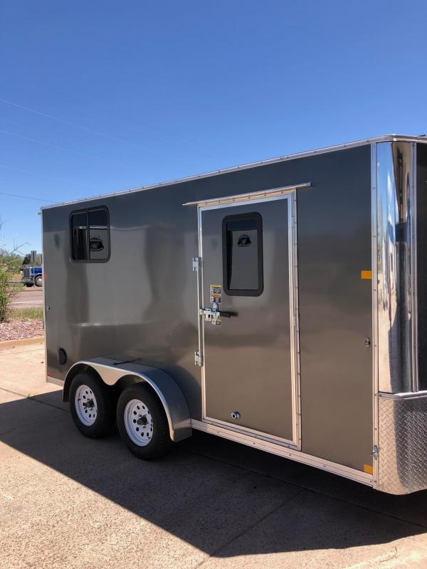 2021 R&M Manufacturing 7x14 v-nose (TAC) Enclosed Cargo Trailer-CO Springs