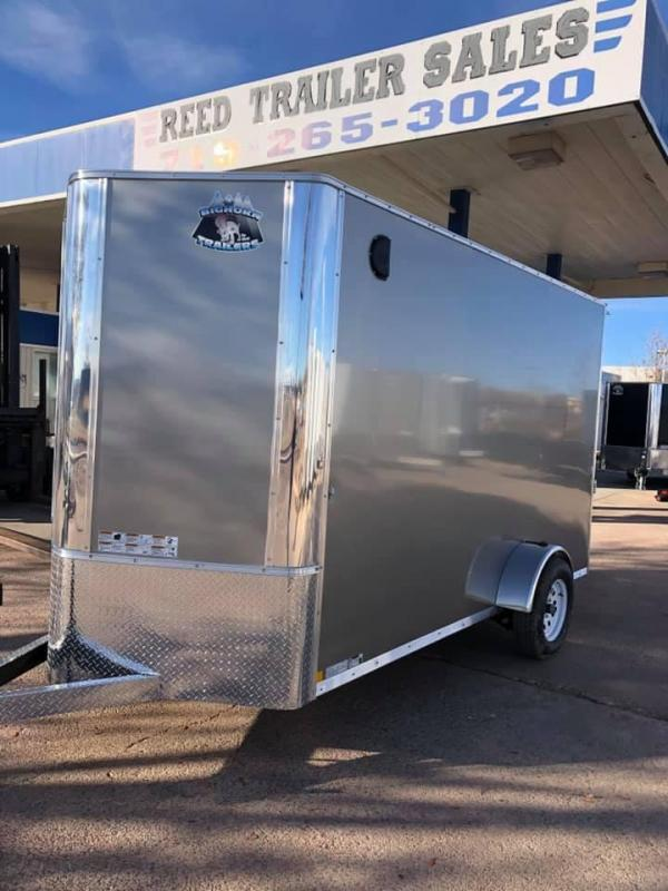 2020 R&M 6x12 v-nose Enclosed Cargo Trailer-CO Springs