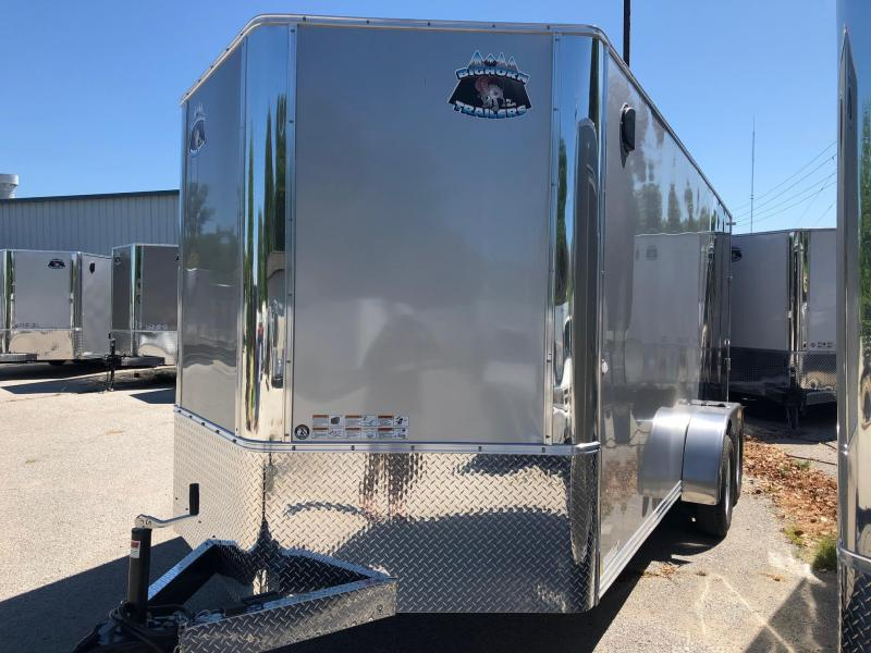 2020 R and M Manufacturing EC 7 16 TA Two Tone Enclosed Cargo Trailer