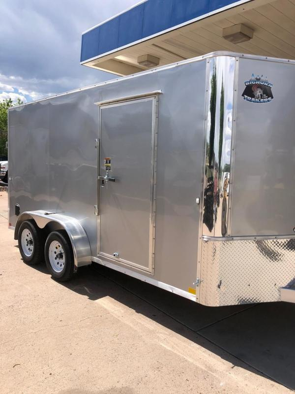 2020 R&M 7x14 v-nose (TAC) Enclosed Cargo Trailer-CO Springs