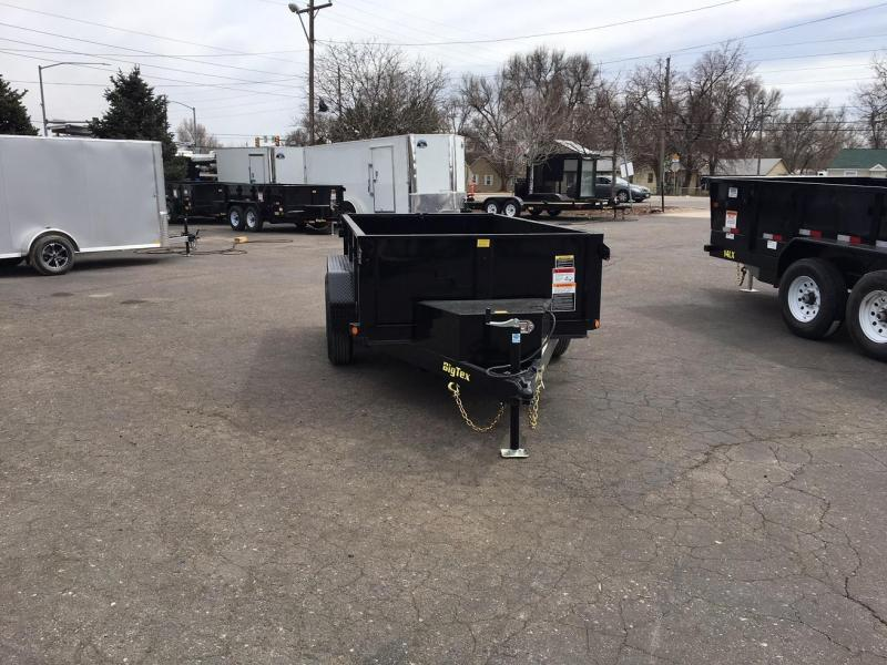 2020 Big Tex Trailers 70SR (5X10) Dump Trailer-Wheat Ridge