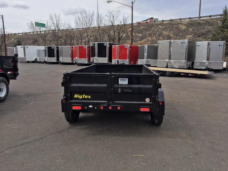 2020 Big Tex Trailers 70SR (5X10) Dump Trailer-Wheat Ridge