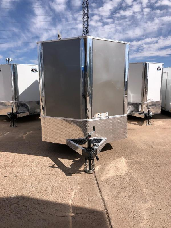 2020 R&M 7x12 v-nose (7' tall, TAC) Enclosed Cargo Trailer-CO Springs