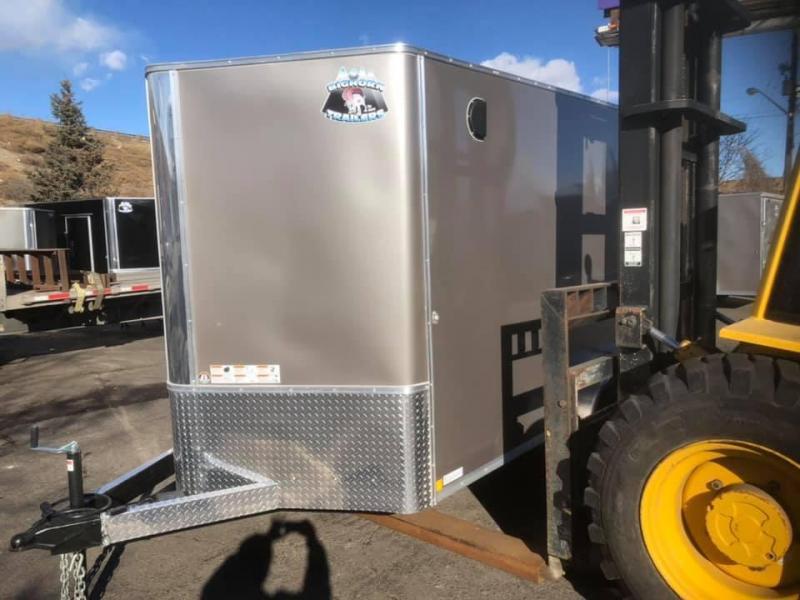 2020 R&M 7x12+v-nose (TAS) Enclosed Cargo Trailer-Wheat Ridge