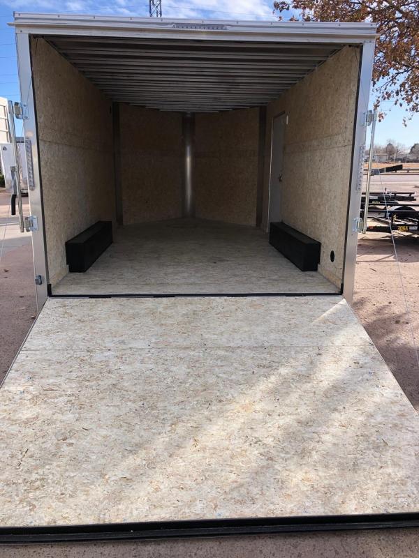 2020 R&M 8.5x14 5 v-nose Enclosed Cargo Trailer-CO Springs