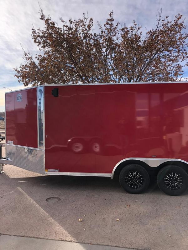 2020 R&M 8.5x14 5 v-nose Enclosed Cargo Trailer-CO Springs