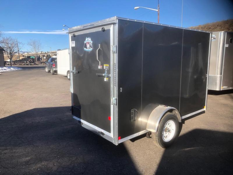 2020 R&M 5x10 v-nose (TAC) Enclosed Cargo Trailer-Wheat Ridge