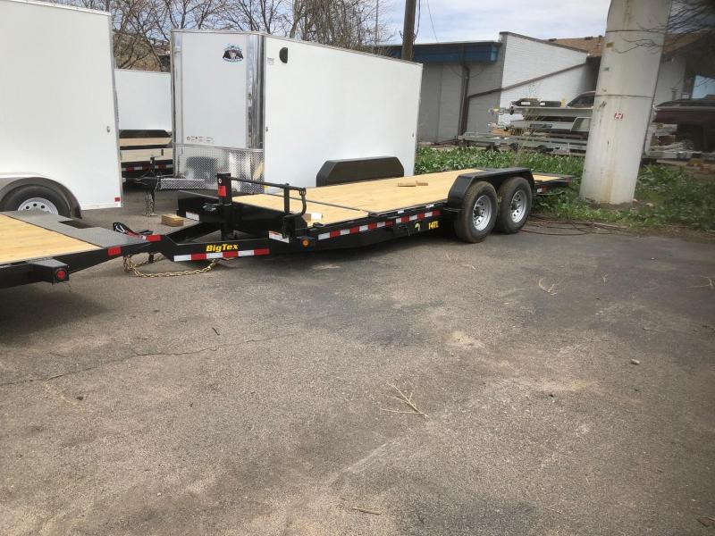 2020 Big Tex 14TL-20 (16+4) Equipment Tilt Trailer