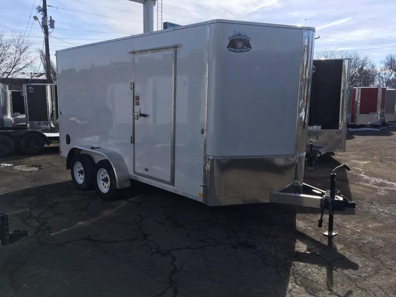 2020 R&M 7X14 V-NOSE (TAS) Enclosed Cargo Trailer-CO Springs