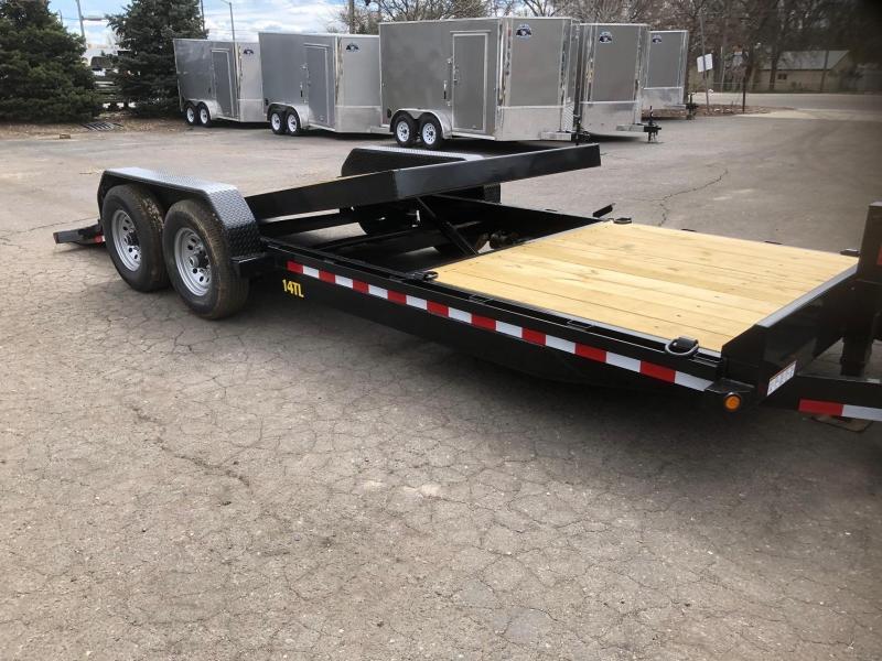 2020 Big Tex 14TL-22 Equipment Tilt Trailer