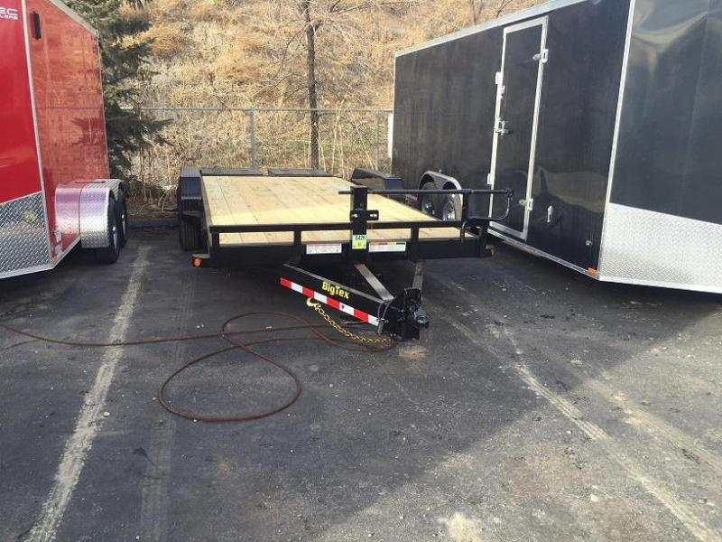 2020 Big Tex 14ET-18' 14K Equipment Trailer w/Mega Ramps-Wheat Ridge