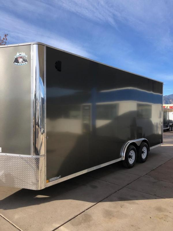 2020 R&M 8.5X20 v-nose (96 tall) Enclosed Cargo Trailer-CO Springs