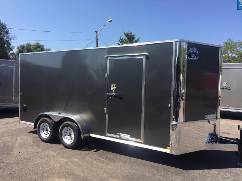 2020 R&M 7x16 v-nose TAC Enclosed Cargo Trailer-Colorado Springs