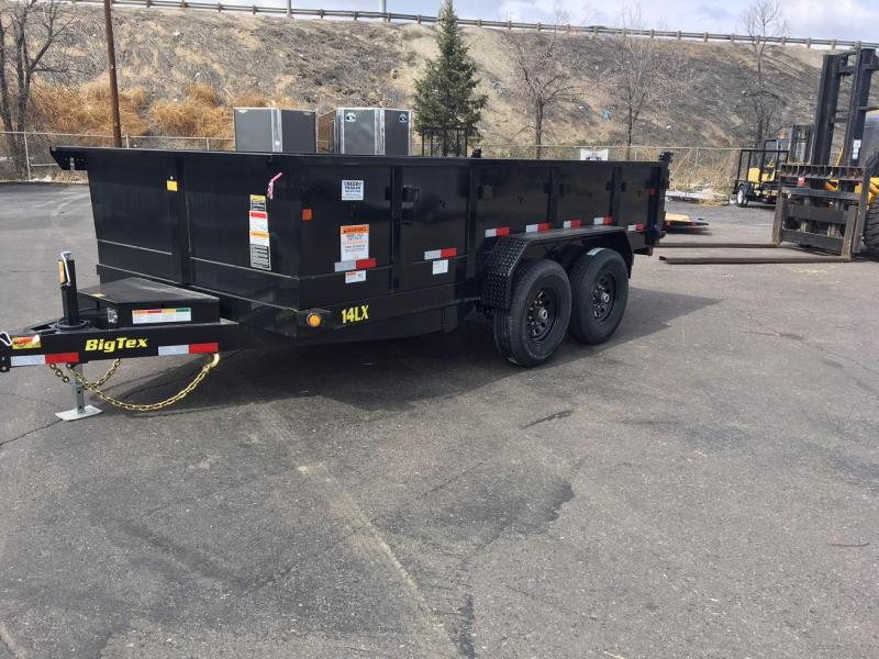 2020 Big Tex Trailers 14LX-14 Dump Trailer-Wheat Ridge