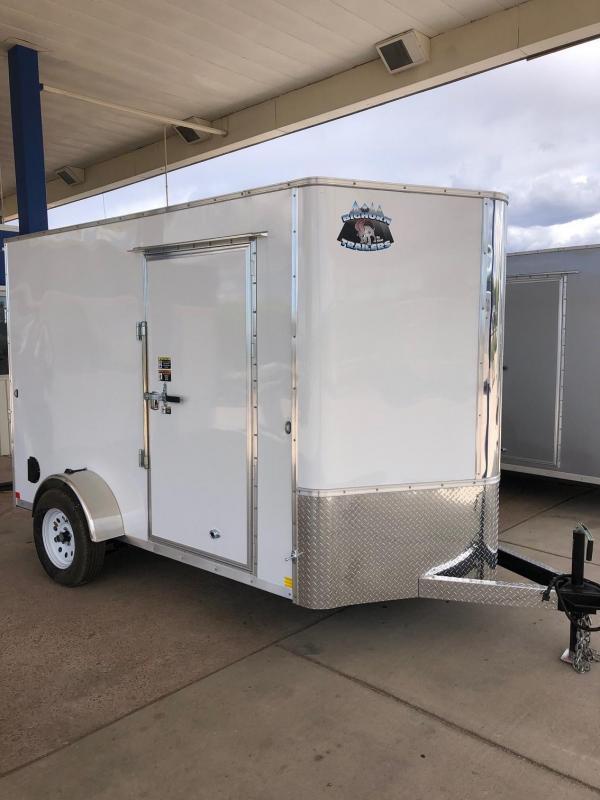 2020 R&M 6x10 v-nose TAS Enclosed Cargo Trailer-CO Springs