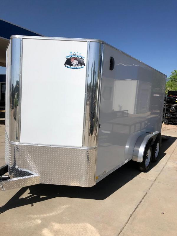 2020 R&M 7x14 v-nose (TAC) Enclosed Cargo Trailer-CO Springs