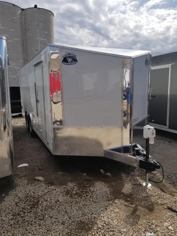 2020 R and M Manufacturing EC 8.5 20 TA OM Enclosed Cargo Trailer
