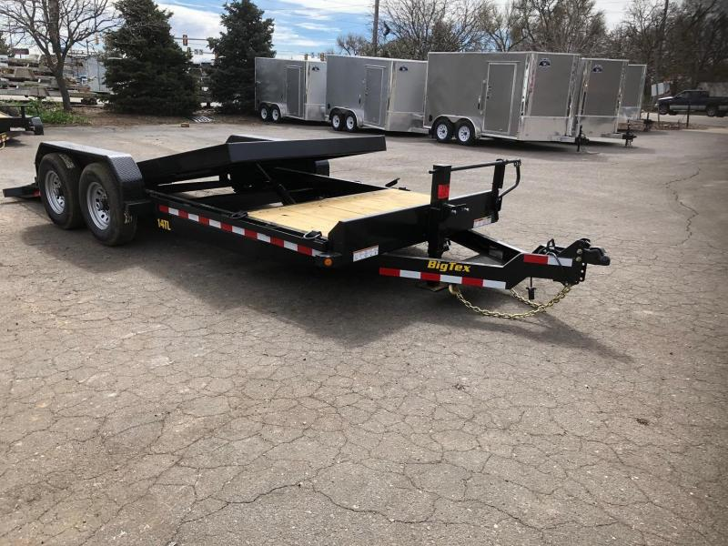 2020 Big Tex Trailers 14TL-20 Equipment Tilt Trailer