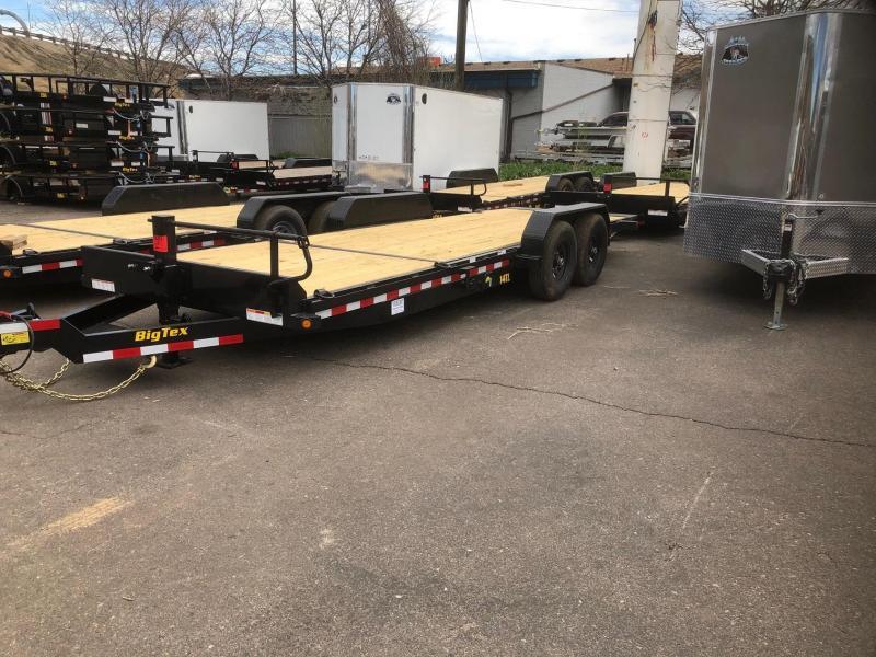 2020 Big Tex 14TL-22 (16+6) Equipment Tilt Trailer