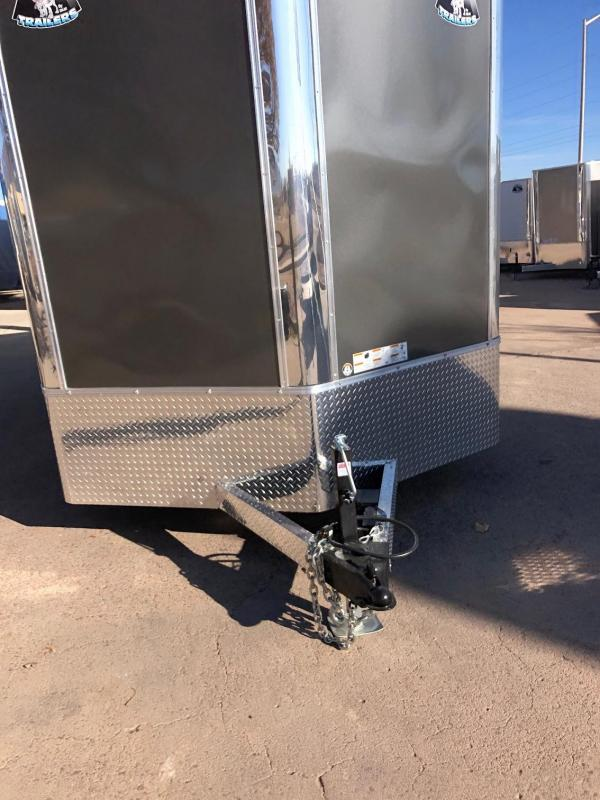 2020 R&M 8.5x16 v-nose (TAC) Enclosed Cargo Trailer-Wheat Ridge