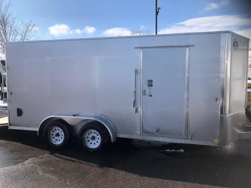 2020 R&M 7x16 v-nose (e-track) Enclosed Cargo Trailer-Wheat Ridge