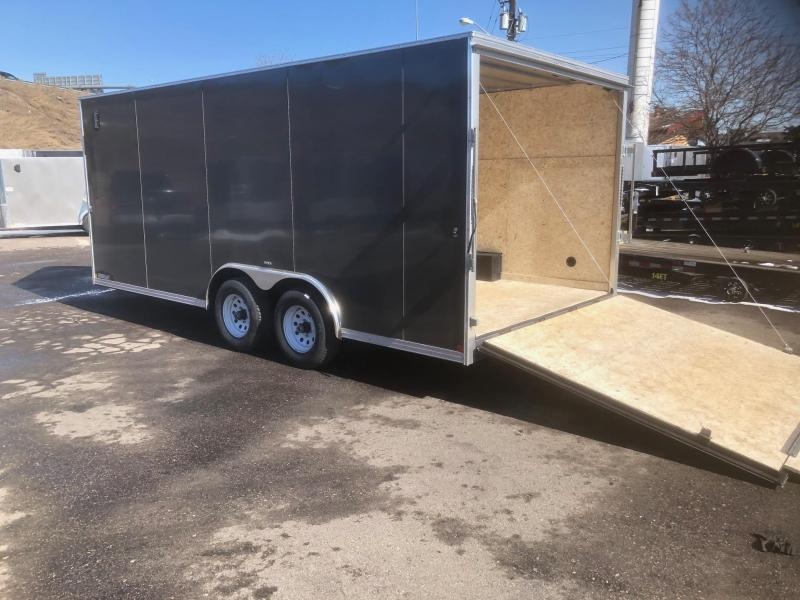 2020 R&M 8.5x18+5 v-nose Car / Racing Combo Trailer