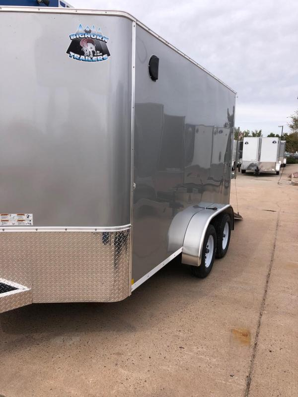 2020 R&M 7X12 v-nose (TAS) Enclosed Cargo Trailer-CO Springs