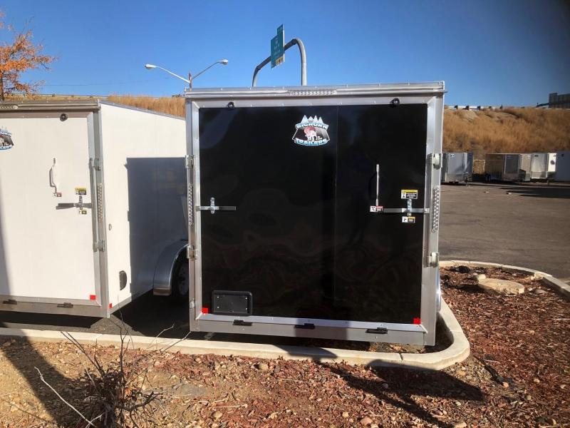2020 R&M Manufacturing 7x16 v-nose (10k TAC) Enclosed Cargo Trailer-Wheat Ridge