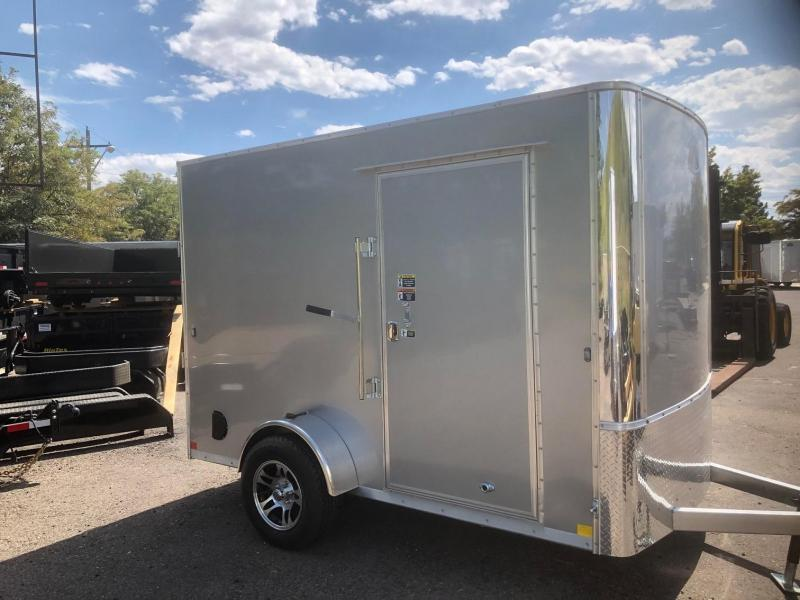 2020 R&M 6x10 Galvanized (SAC) Enclosed Cargo Trailer-Wheat Ridge