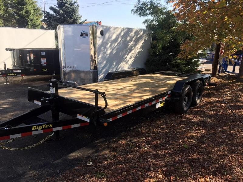 2020 Big Tex 14ET-20' 14K Equipment Trailer w/Mega Ramps-Wheat Ridge
