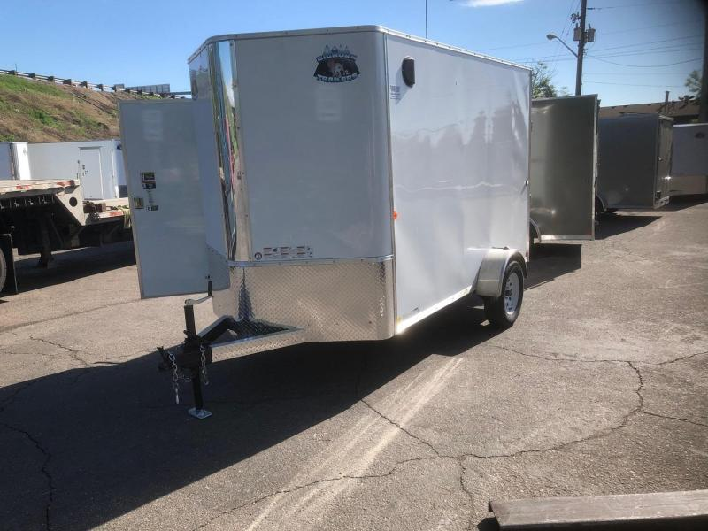2020 R&M 6x10 v-nose (TAS) Enclosed Cargo Trailer-Wheat Ridge