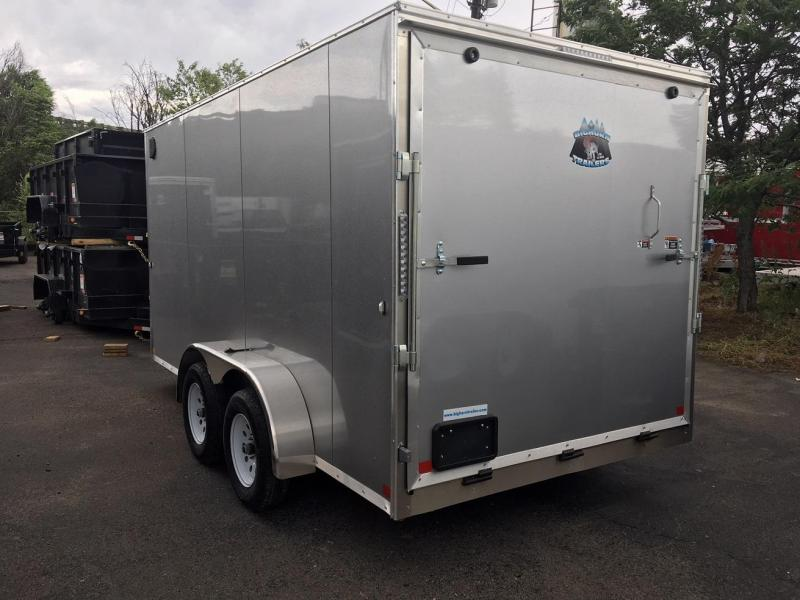 2020 R&M 7x14 v-nose (TAC) Enclosed Cargo Trailer-Wheat Ridge