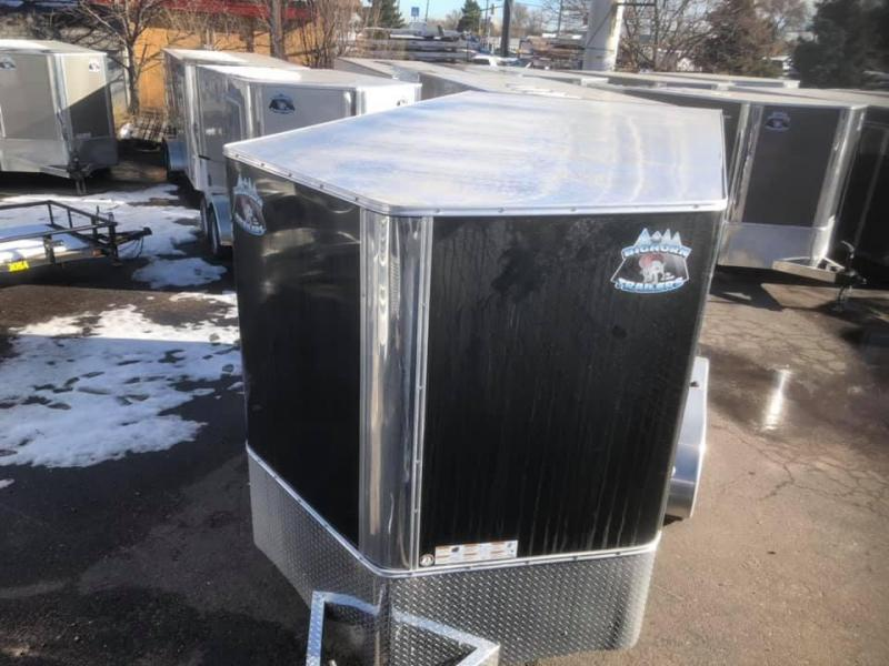 2020 R&M 7x12+v-nose (TAS) Enclosed Cargo Trailer-Wheat Ridge