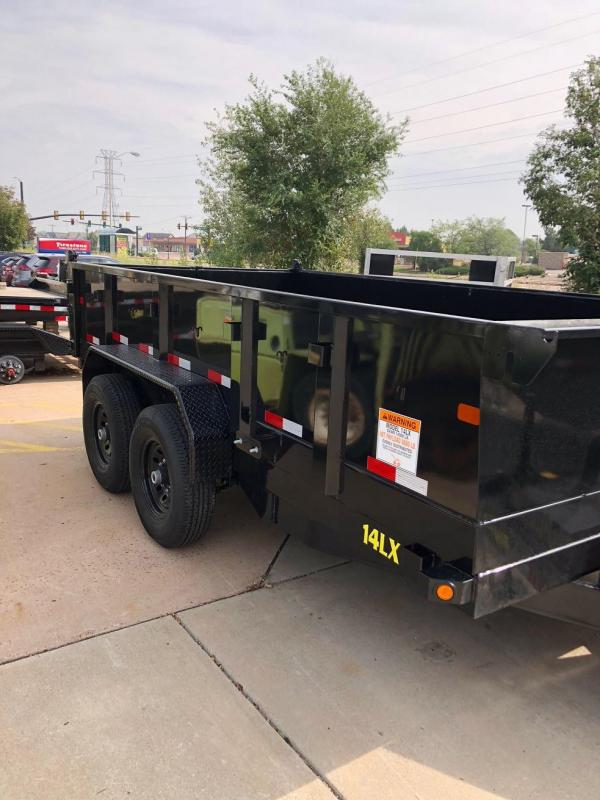 2019 Big Tex Trailers 14LX-14 W/HYDRAULIC JACK Dump Trailer-CO SPRINGS