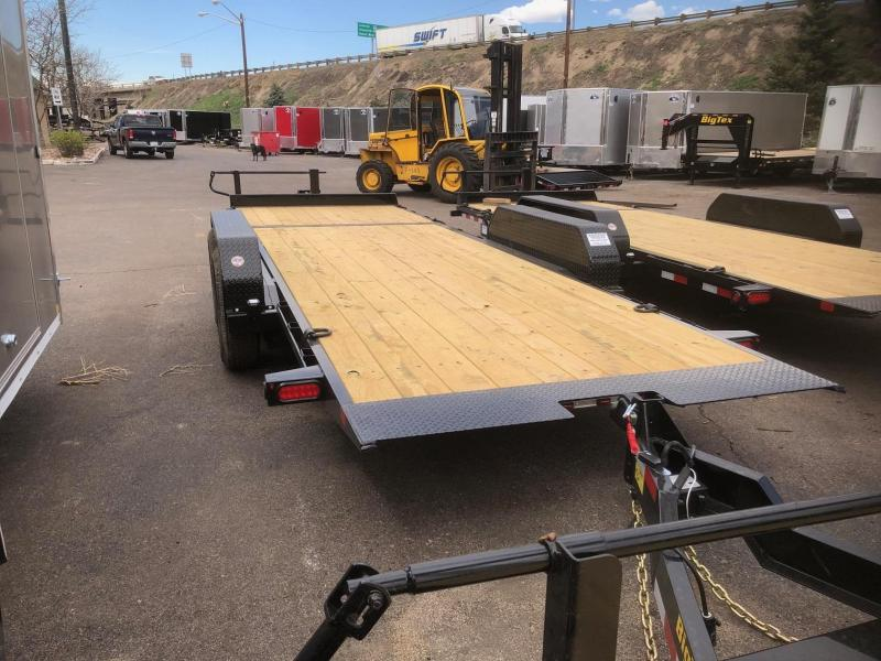 2020 Big Tex 14TL-20 (16+4) Equipment Tilt Trailer
