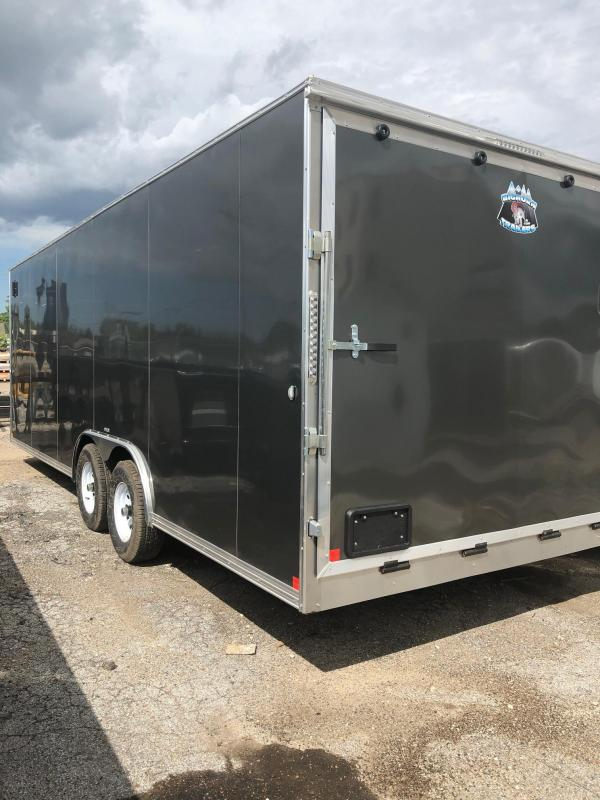 2020 R and M Manufacturing EC 8.5 24 TA Enclosed Cargo Trailer