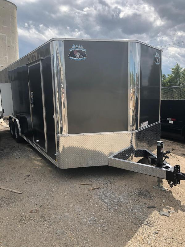 2020 R and M Manufacturing EC 8.5 24 TA Enclosed Cargo Trailer