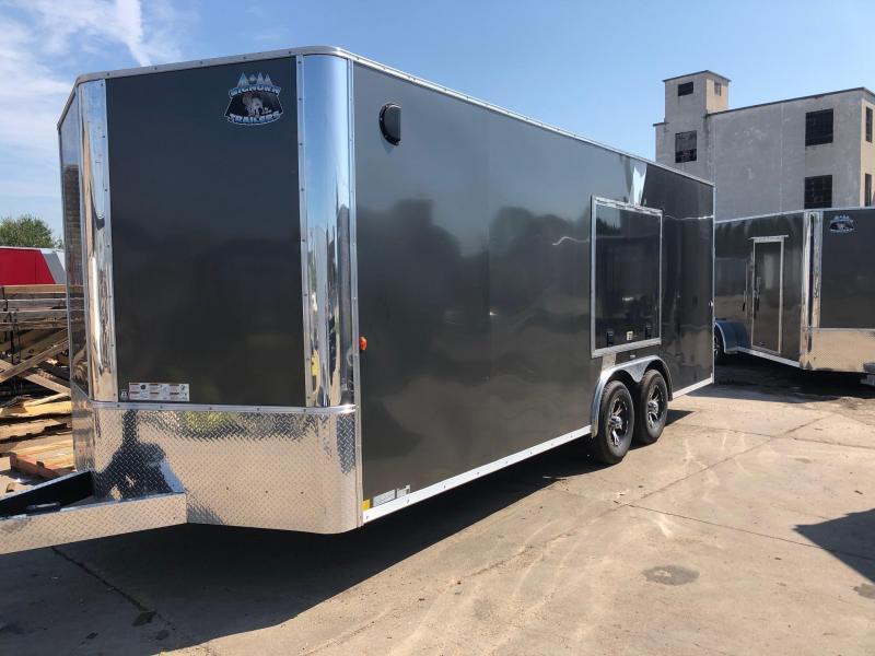 2020 R and M Manufacturing EC 8.5 20 TA Enclosed Cargo Trailer