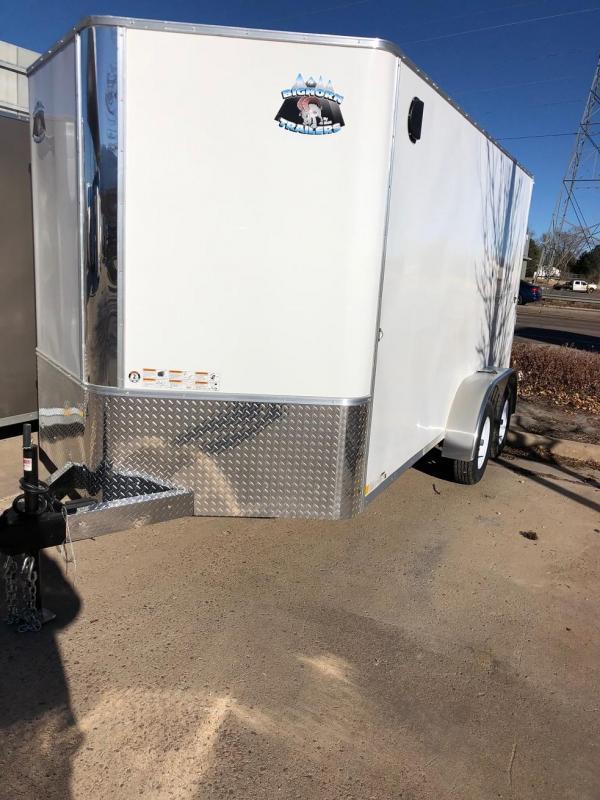2020 R&M 7X14 V-NOSE (TAS) Enclosed Cargo Trailer-CO Springs