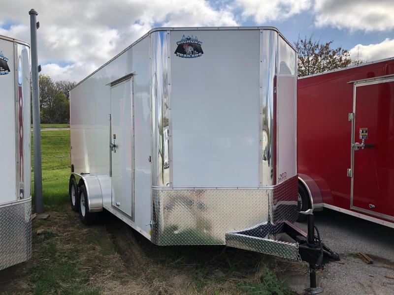 """7x16 Big Horn V nose W/84"""" Wall height"""