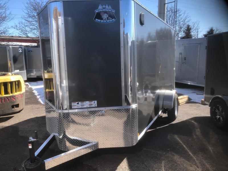 2020 R&M 6x12 v-nose (Single Axle) Enclosed Cargo Trailer-Wheat Ridge